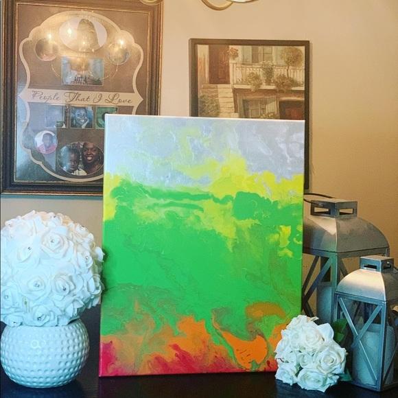 Pour Painting Hello Jello